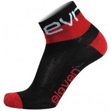 ponožky ELEVEN Howa EVN vel. 2- 4 (S) černé/červené