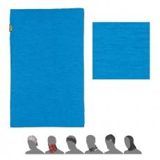 šátek roura SENSOR TUBE MERINO WOOL modrý