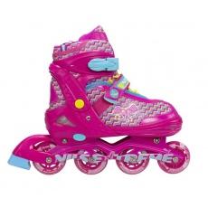 Dětské kolečkové brusle NILS EXTREME NJ 4613 A pink