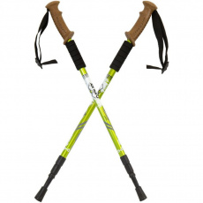 Enero Expedition trekking poles with cover green 338696