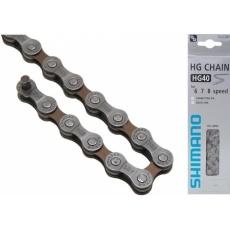 řetěz Shimano CN-HG40 6/7/8r. 114čl. se spojkou UG51 original balení
