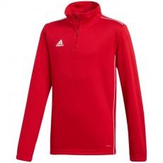 Adidas CORE 18 TRAINING TOP red JR CV4141