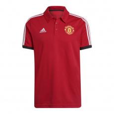 3-stripes Manchester United polo shirt M