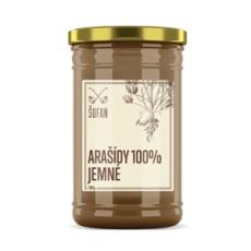 Arašídy 100% pražené mělněné jemné 1000g (Arašídový krém jemný)