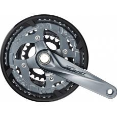 kliky Shimano Alivio FC-M4060 3x9 48/36/26z 170mm šedé servisní balení