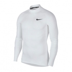 Nike Pro Top LS Tight Mock M BV5592-100 thermoactive golf shirt