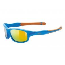 brýle UVEX Sportstyle 507 modro/oranžové
