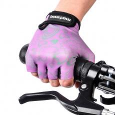 Cycling gloves Meteor Flower Jr 23374