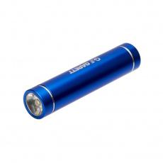 Powerbank 2600mAh micro USB / Lightning blue