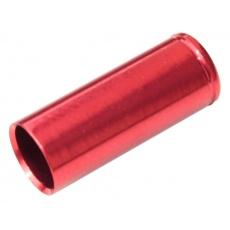 koncovka bowdenu MAX1 CNC Alu 5 mm utěsněná červená 100 ks