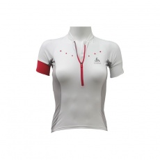 T-shirt Odlo Stand-Up Collar S / S 1/2 Zip Gavia W 410891-10000