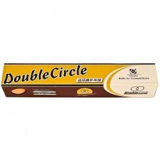 Double Circle table tennis balls 6 pcs. Orange