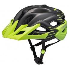 přilba KED Status Junior S black green matt 49-54 cm