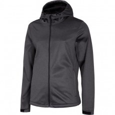 4F Softshell jacket medium gray melange NOSH4 SFM001 24M
