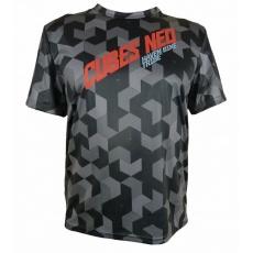 dres krátký pánský HAVEN CUBES NEO černo/červený