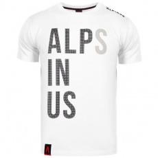 Alpinus Alps In Us white T-shirt M ALP20TC0015
