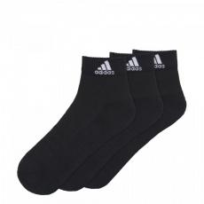 Adidas 3 Stripes Performance Ankle Half Cushioned 3pak AA2286 socks