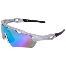 brýle ROCK MACHINE Edge stříbrné