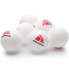 A set of 6 ping pong balls Meteor 15028