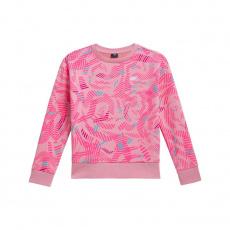 4F HJL21-JBLD003 Light Pink sweatshirt