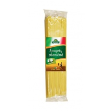 špagety pšeničné bílé BIOLINIE