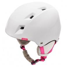 Kiona ski helmet white / pink