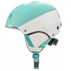 Kiona ski helmet light blue / white