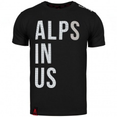 Alps In Us T-shirt black M