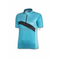 dres krátký dámský Rogelli BONA modrý