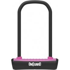 zámek ONGUARD podkova 115x230x11mm růžová