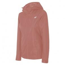 Functional women's jacket 4F H4L19-KUDT001 salmon