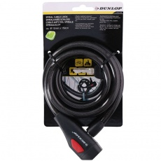 Dunlop spiral cable lock 12 mm 150 cm ST 75570