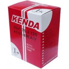 duše KENDA 12 1/2 x 2 1/4 (62-203) AV 45° 45mm zahnutý ventil
