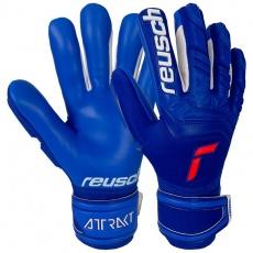 Goalkeeper gloves Reusch Attrakt Freegel Silver 5170235 4010