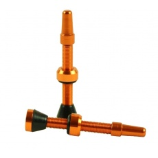ventilek bezdušový  HAVEN alu 34mm oranžový 2ks