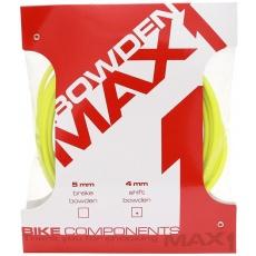 bowden MAX1 4mm fluo žlutá balení 3m