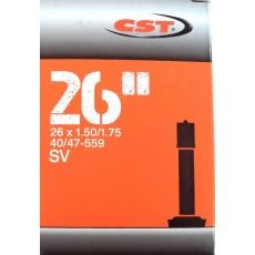 """duše CST 26""""x1.50-1.75 (40/47-559) AV/40mm"""