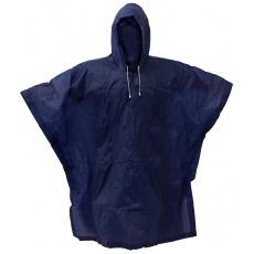 pláštěnka PVC pončo modrá