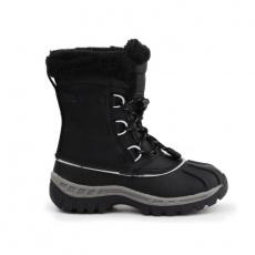 BearPaw Jr 1871Y Black Gray shoes