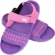 Aqua-speed Noli sandals purple pink Kids col.93
