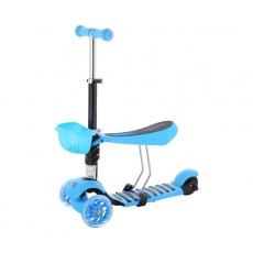 Koloběžka tříkolová NILS Fun HLB08 3v1 modrá