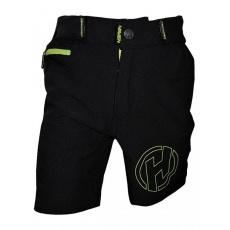 kalhoty krátké dětské HAVEN TeenAge černo/zelené