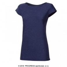 triko krátké dámské Progress CORDOBA modré