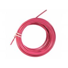 bowden brzdový 5mm 2P 10m růžový role