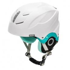 Lumi ski helmet white / mint