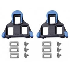 kufry SHIMANO silniční SPD-SL SM-SH12 černo/modré s možností pohybu přední a střední části +/- 2°