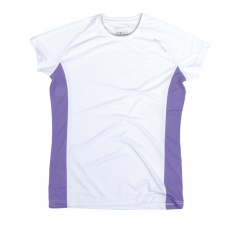 BECOOL 40 LADY Dámske funkčné tričko biele XS