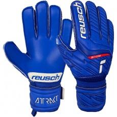 Attrakt Goalkeeper Gloves Silver Jr 51 72 215 4010