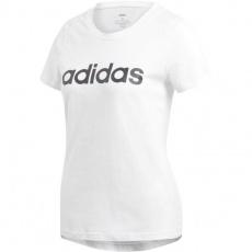 Adidas Essentials Linear Slim Tee W DU0629 training shirt