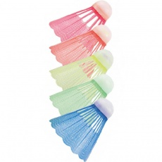 Badminton shuttlecocks t Aero Space colored 5 pcs